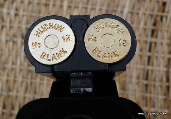 how to make a prop double barrel shotgun