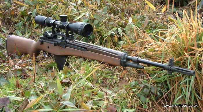M14sniper M14 Sniper Rifle Usmc